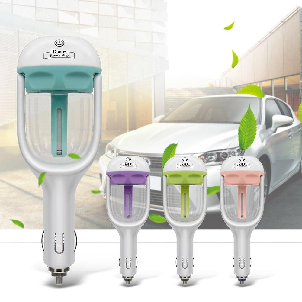 2019 novo mini 12 v carro umidificador de vapor purificador de ar aroma difusor de óleo essencial umidificador carro muitas cores