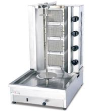 DC-G4 Vier Branders Shoarma Machine, Doner Kebab Machine, Gas Bbq, Doner En Gyros Grill Door Zee