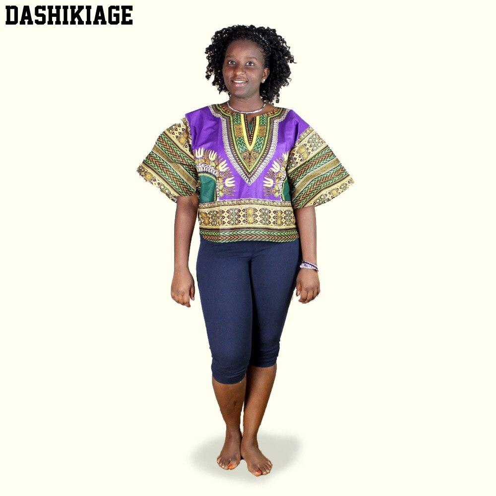 Real Ankara cera a la moda nuevo DASHIKI africano JAVA cera algodón impresión tela Mini túnica Top Patapa
