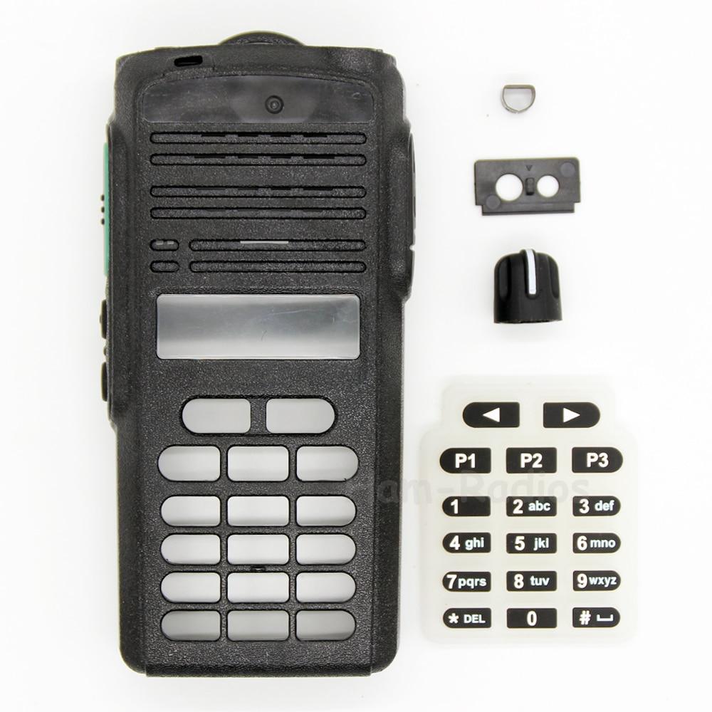 Peças de serviço CP1660 EP350 Front Housing Kit radio Caso Refurb para Motorola CP1660 EP350 Botão Botão PTT Walkie Talkie habitação