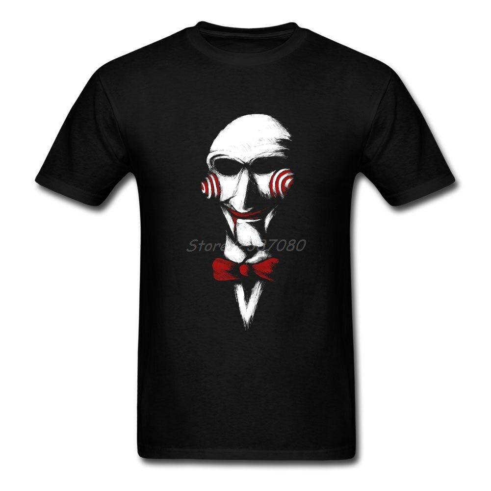 Vamos Jogar UM Jogo Viu Palhaço T Personalizado Camisa de Manga Curta T Shirt Homens Hip Hop Partido Camisas dos homens Tamanho Grande de Algodão Crewneck