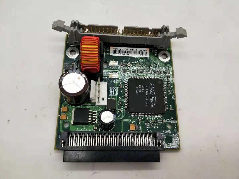 Para HP 5000 1055 1050 C6071-60191 Tarjeta de puente de disco duro de impresora