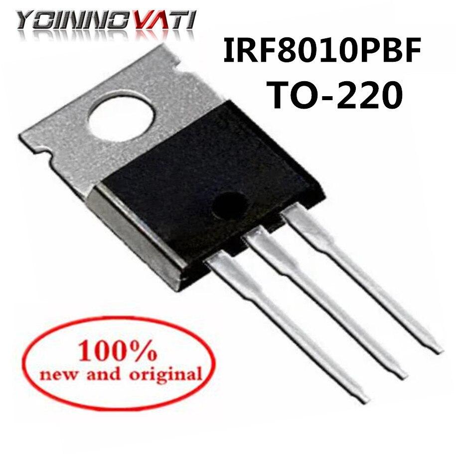 Tubo IRF8010 IRF8010PBF TO-220 MOS tubo de efecto de campo 80A100V 100% nuevo y original