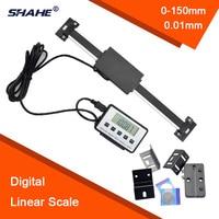 DRO Magnetic Digitalanzeige 0-150mm/0-200mm/0-300mm 001mm digital display digital linear scale