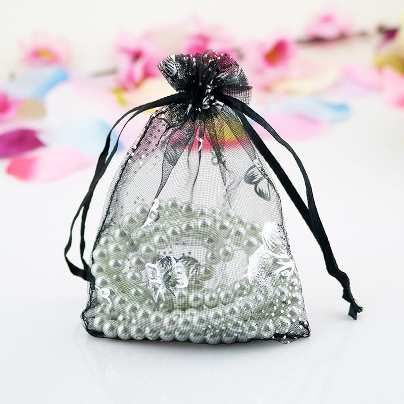 Горячая-Распродажа-100-шт-лот-черные-сумки-из-органзы-9x12-см-дизайн-бабочки-маленькие-свадебные-подарочные-пакеты-на-шнурке-сумки-для-ювелирн