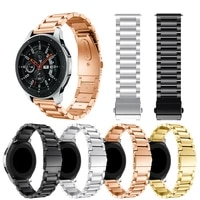 stainless steel quick release watch band strap for samsung galaxy 46 42mm strap for samsung gear s3 smart watchband bracelet