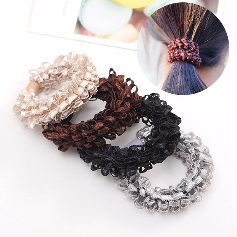 Hot Sale 1PC Fashion Elastic Hair Band For Women Rope Graceful Girls Rubber