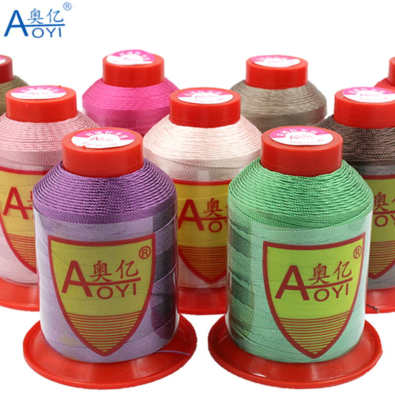 Швейная нить aoyi 210D/9 для ремонта кожаных нитей, нить для шитья 5 #, Полиэстеровая пряжа для вязания