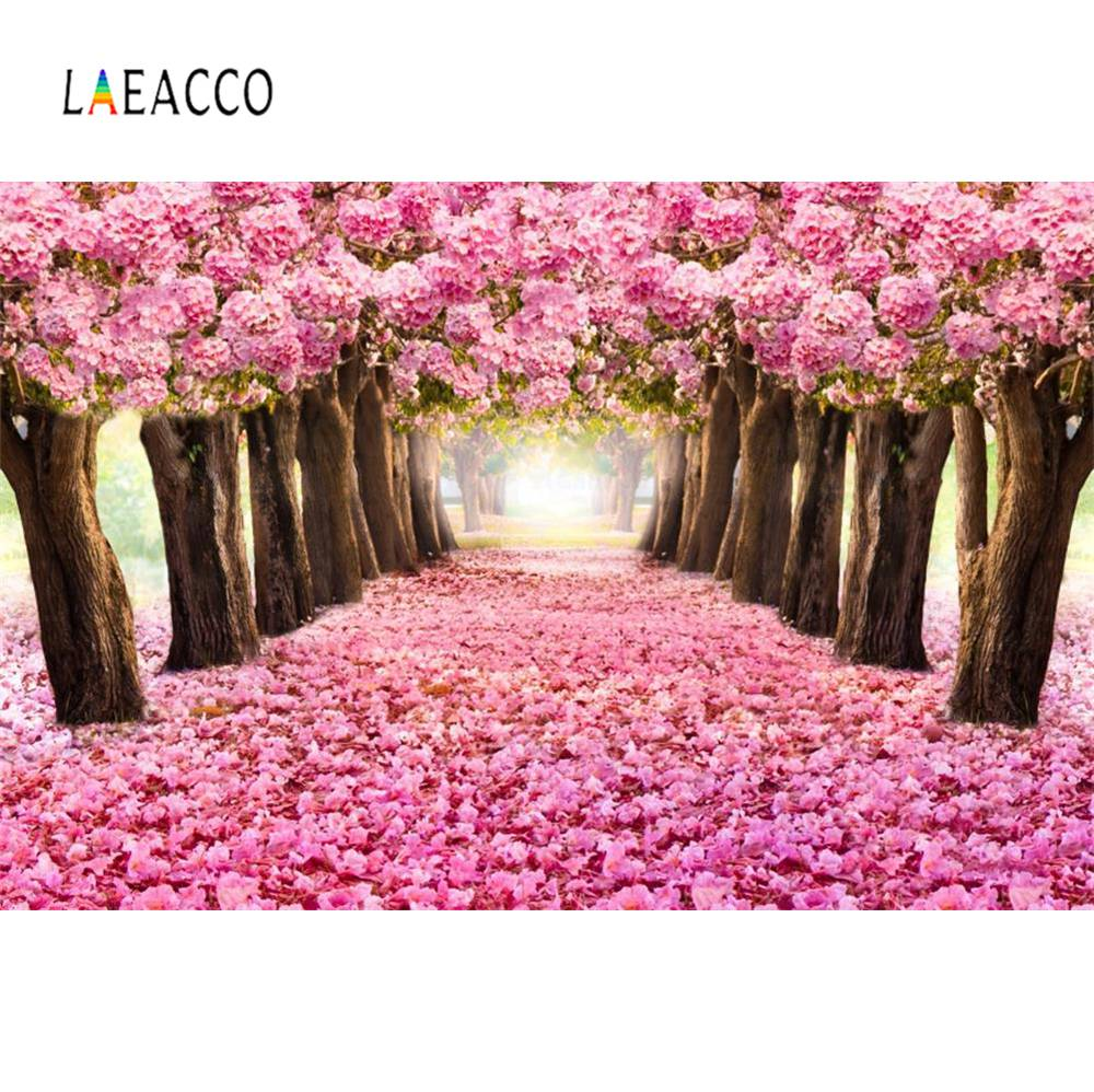 yeele dreamy castle style backdrops for photography pink flowers fairy tale backgrounds birthday party photo vinyl studio props Castle Pink Flower Petal Dreamy Romantic Love Baby Birthday Party Portrait Photography Backgrounds Photo Backdrops Photo Studio