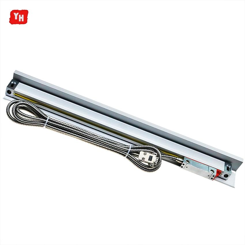 Escalas lineales/codificador/Dimensiones del Sensor 100mm 200mm 300mm 400mm 500mm 600mm 700mm 800mm 900mm 1000mm para máquinas de molino/torno