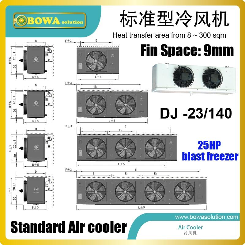 Низкотемпературный воздушный охладитель, 140 кв. М, подходит для 6HE-28Y(6H-25.2Y), D6DL-270X, HG6/1240-4 или Z 25 106 Y, конденсаторный блок для холодных комнат