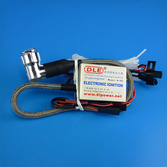 DLE40 DLE60 DLE111 DLE120 DLE170 DLE222 motor duplo cilindro de ignição