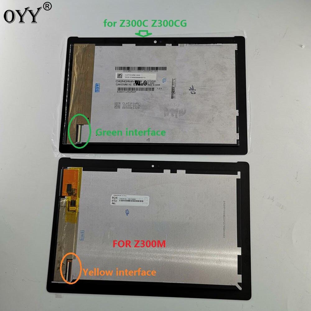 10,1 pulgadas para ASUS ZenPad 10 Z300 Z300C Z300M P00C pantalla LCD de matriz de montaje de digitalizador con pantalla táctil