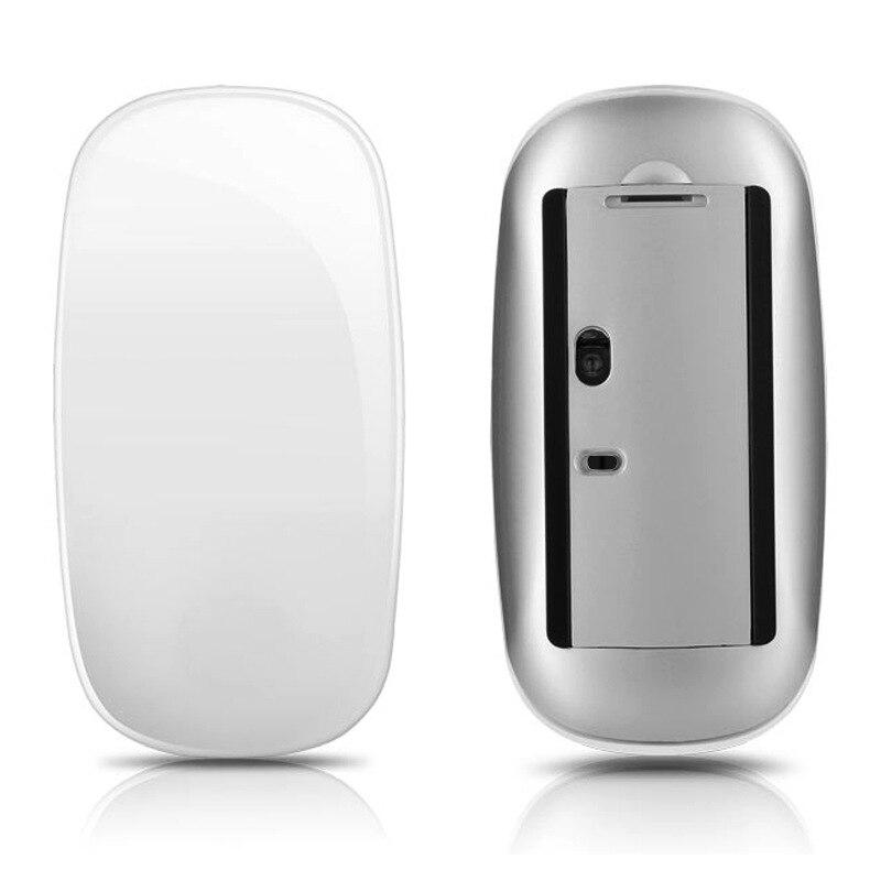 Ratón inalámbrico Bluetooth ordenador portátil franja táctil novedad creativo Universal Mini óptico 2,4G ratón táctil inalámbrico