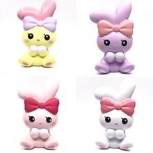 Ibloom ange lapin Squishy emballage original Kawaii Squishies jouets parfumés doux lente hausse