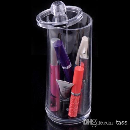 الاكريليك منظم أدوات التجميل صندوق ماكياج عيد ميلاد صندوق هدايا الزفاف