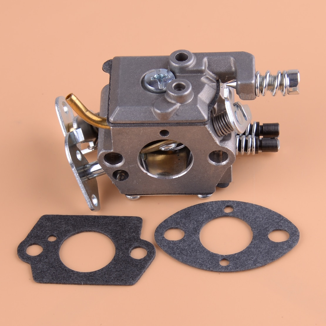 Kit de carburateur LETAOSK 530071987 530019172 530035482 pour Husqvarna 36 41 136 137 137e 141 142 tronçonneuse Zama C1Q-W29E