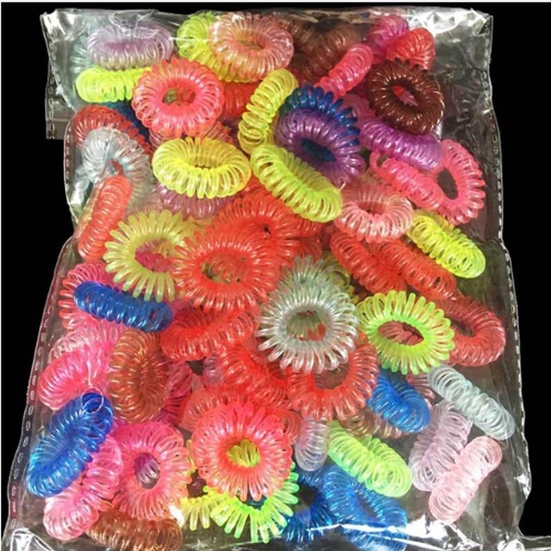 Резинки для волос, 30 шт., резинки для волос, держатель для хвостиков, браслеты, аксессуары для волос