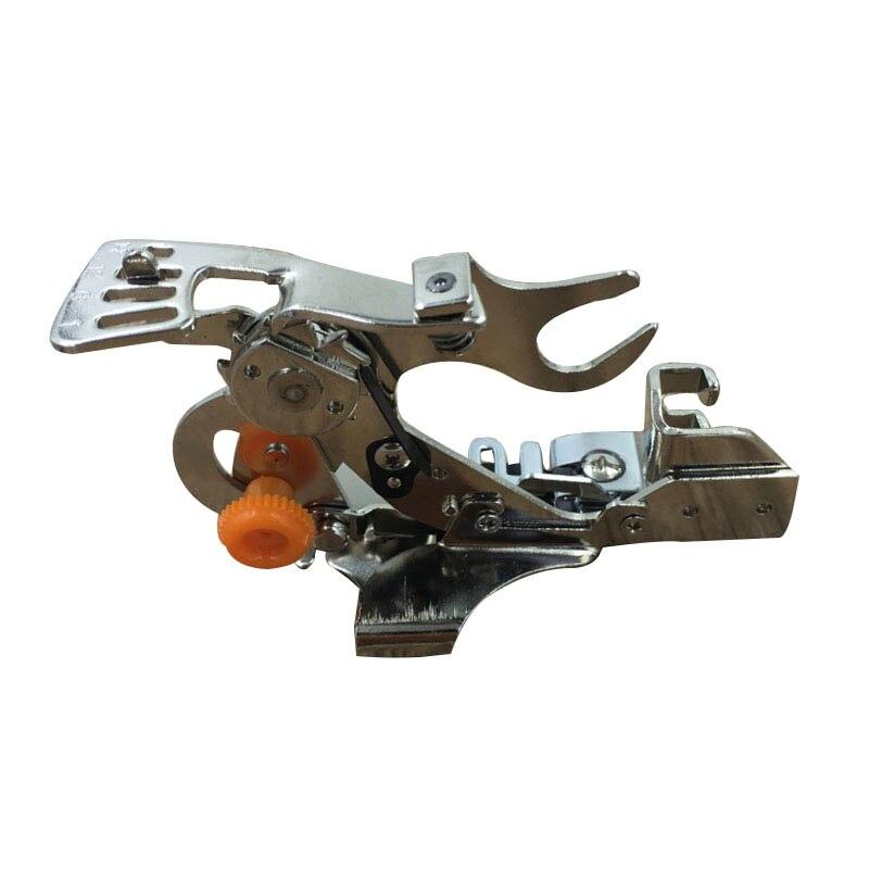 Máquina de coser Ruffler todas las máquinas prensadoras para cantante, hermano, caña de coser Janome baja FEIYUE, pies se adapta LH8s
