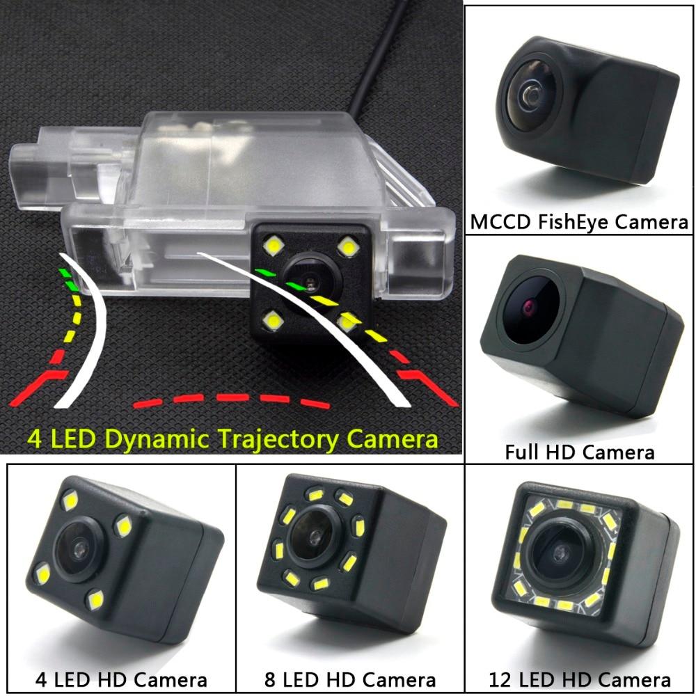 Para Peugeot 301, 308, 408, 508, 2013, 2014 Citroen C5 C4 LED coche de cámara de visión trasera inversa Monitor de aparcamiento inalámbrico
