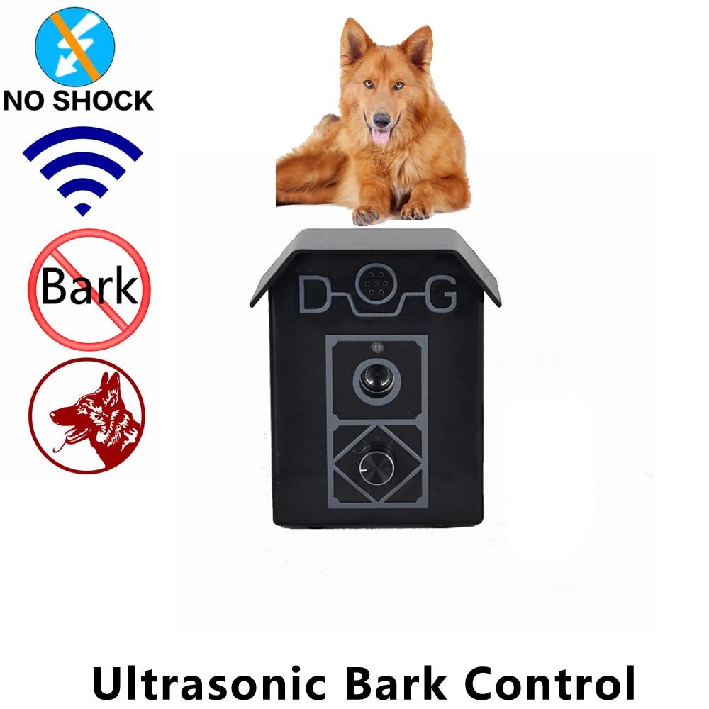 Trainertec Dog Bark Control Device Outdoor Ultrasonic Bark Anti Barking House UL10 Sound control