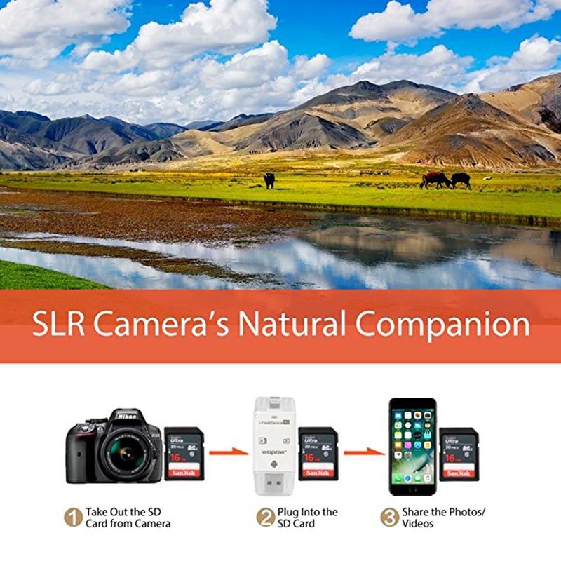 Trail Camera Viewer for Android Devices, Micro Usb Connection, Reads&Writes SD and Micro SD Cards for Hunting Camera Card Reader enlarge