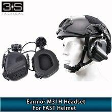 Écouteurs Earmor M31H casque de tir tactique pour Airsoft casque rapide accessoire de casque militaire