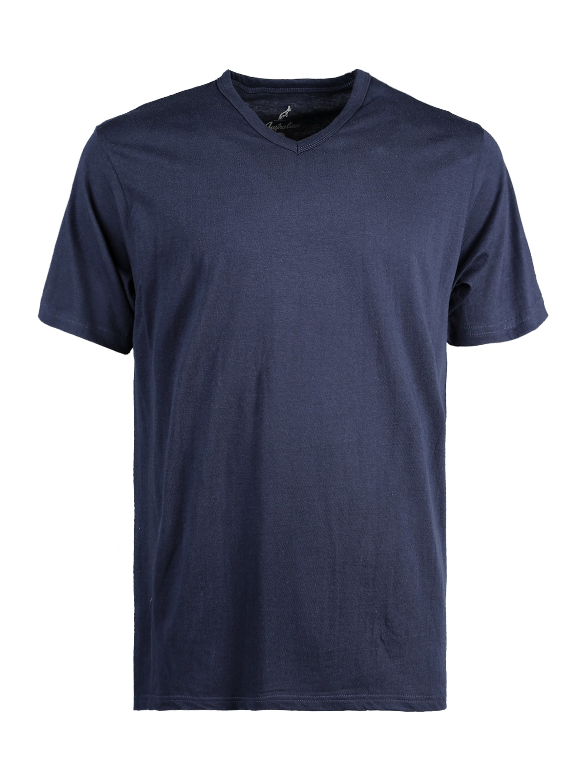 Camiseta de manga corta con cuello en V