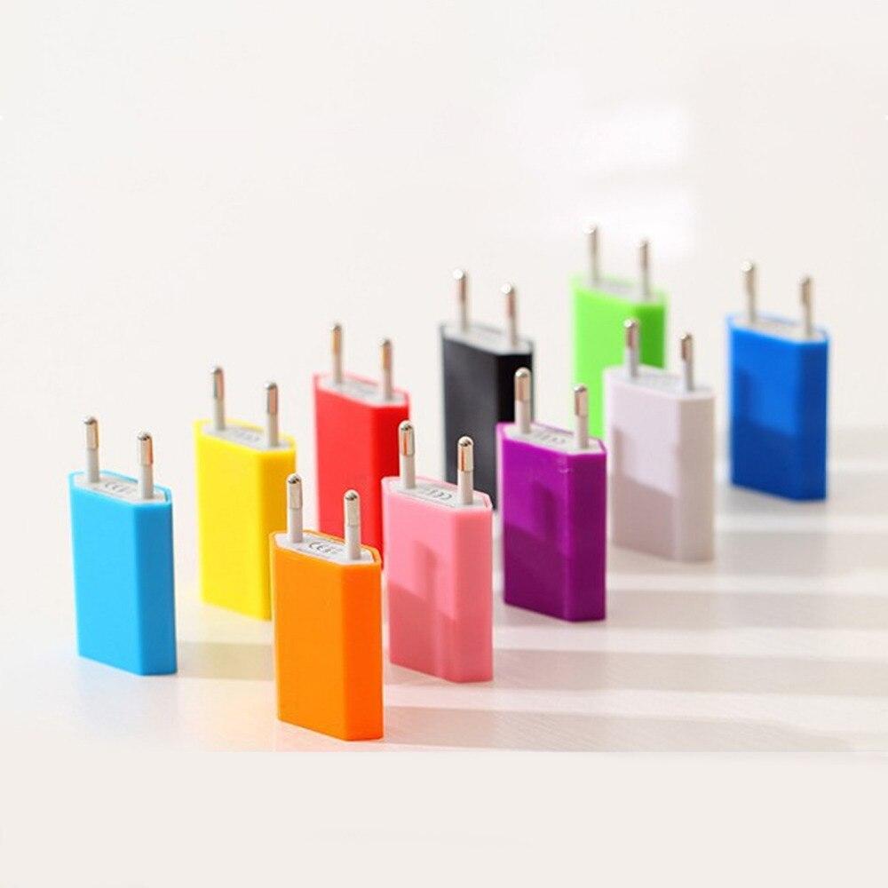 Cargador de pared USB Etmakit, enchufe de la UE para viaje, adaptador de CA para el hogar para iPhone 5s, 6 s, 7 Plus, para Samsung S5, S6, S7, cargador de teléfono