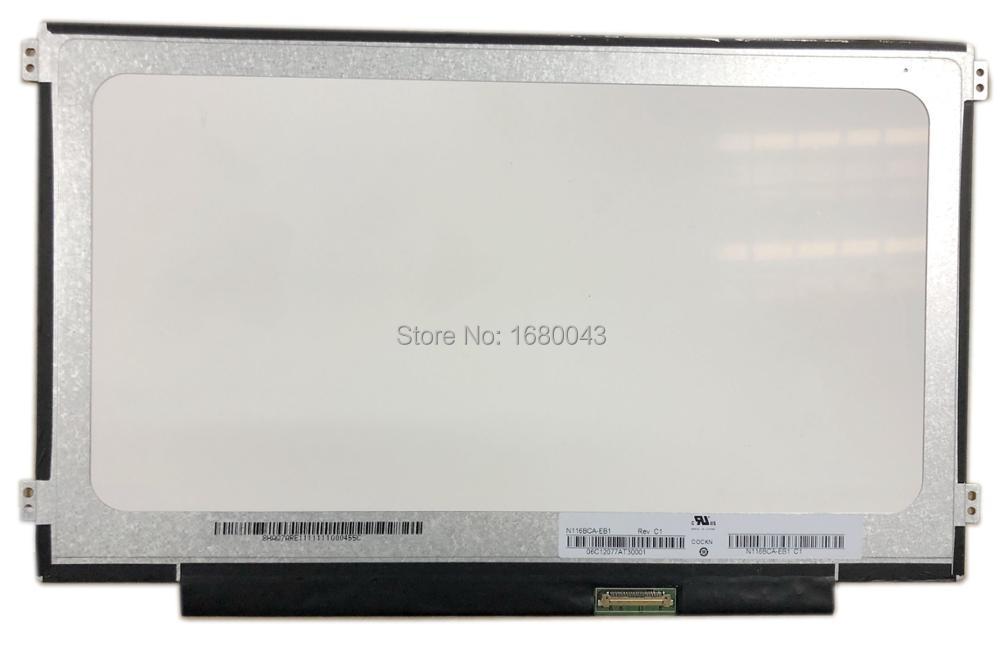 N116BCA-EB1 Rev C1 صالح B116XAN04.0 LTN116AL02 N116BCA-EA1 IPS LCD شاشة الكمبيوتر المحمول 30 دبوس اليسار + الحق المسمار ثقوب
