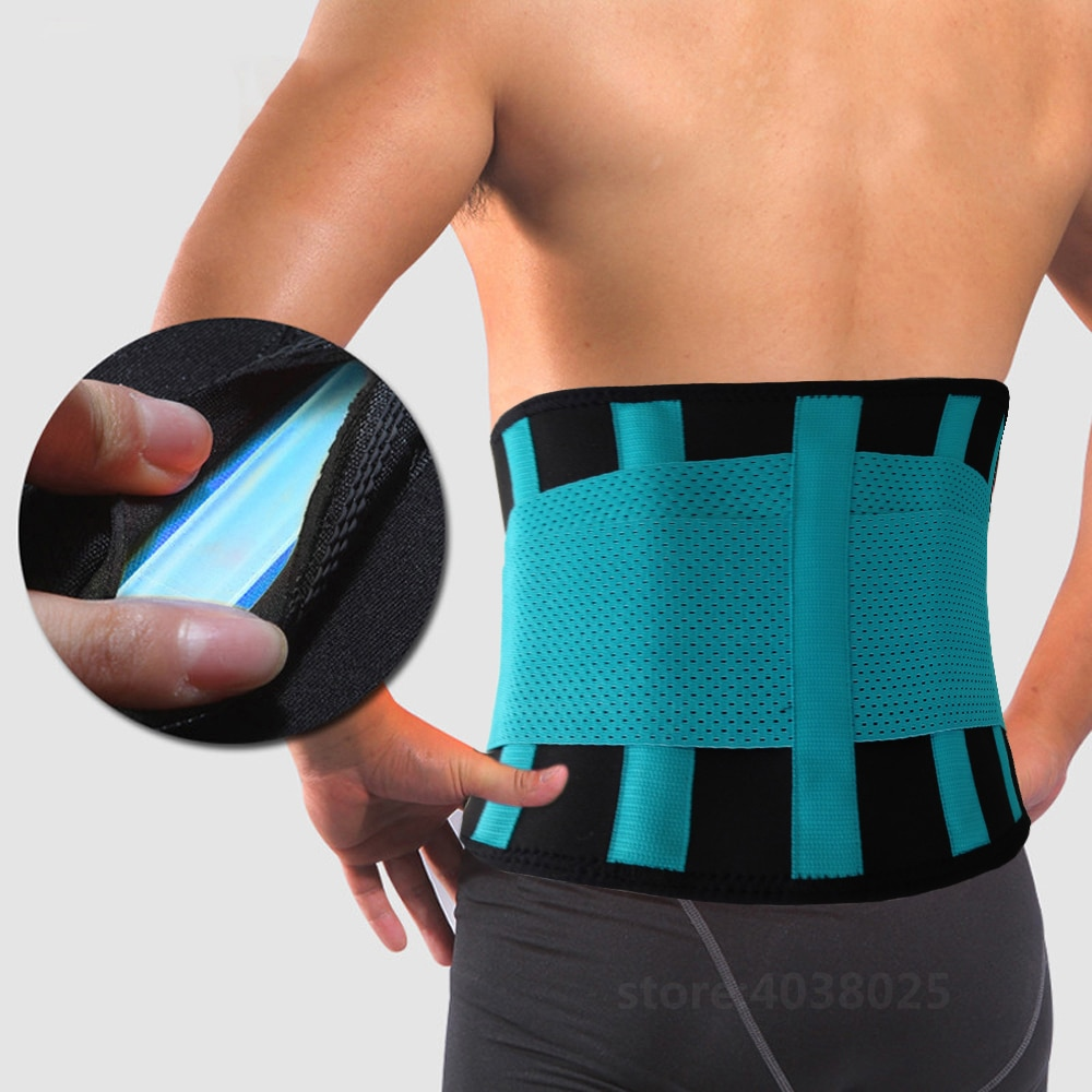 Medical Back Brace Waist Belt Spine Support Men Women Belts Breathable Lumbar Corset Orthopedic Devi