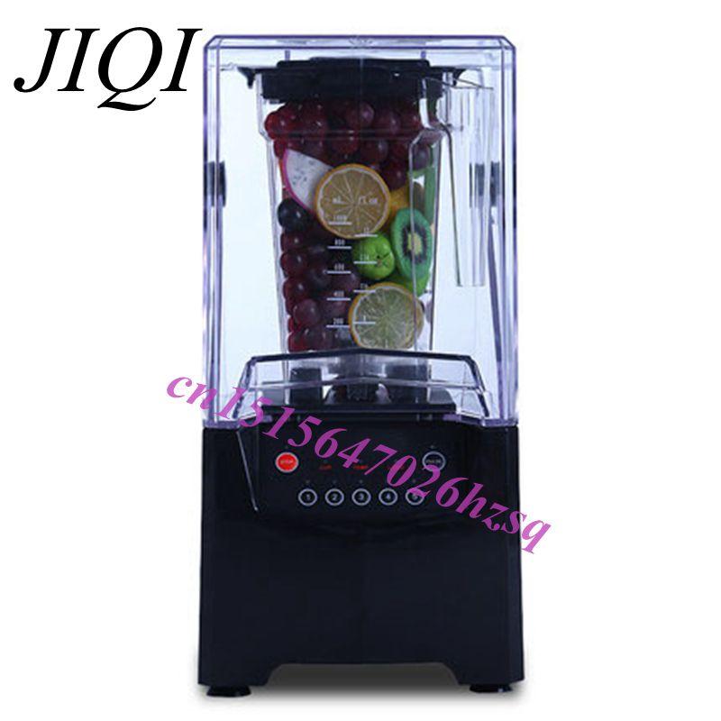 JIQI, trituradora de hielo comercial multifunción, máquina de conos de nieve, aguanieve máquina profesional de
