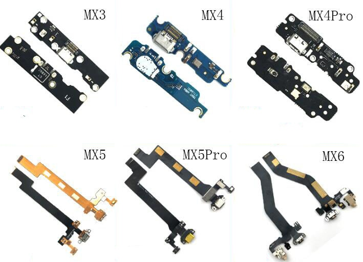 Neue USB-Lade Port Dock Connector Board Flex Kabel ersatz Für Meizu MX2 MX3 MX4 MX5 MX6 PRO pro6