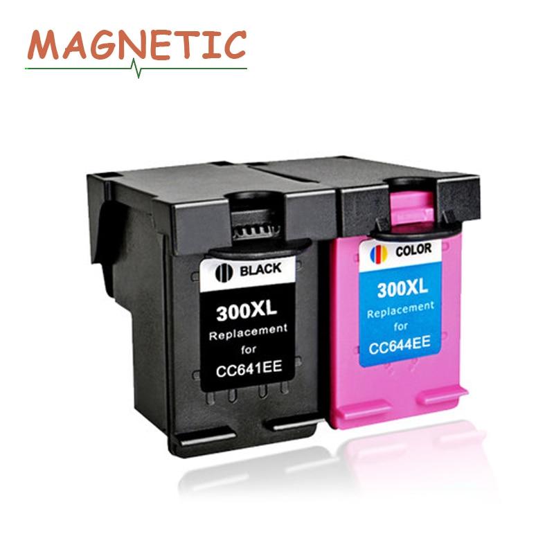 Magnetic Compatible Ink Cartridge For HP300 For HP 300 Deskjet F4500 F4580 F2420 F2480 F4210 F2483 Photosmart C4680 C4683 C4780
