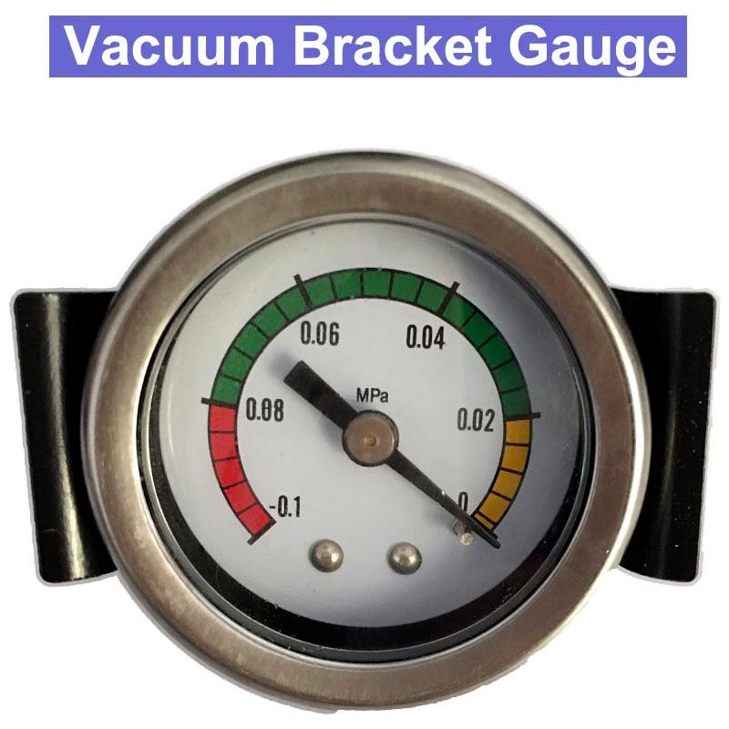 Alta calidad, a prueba de golpes, 0,1 MPa, medidor de presión de soporte de vacío
