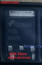 Dorigine 100% NOUVEAU FDD6N25 6N25 DPAK 50 PCS/LOT