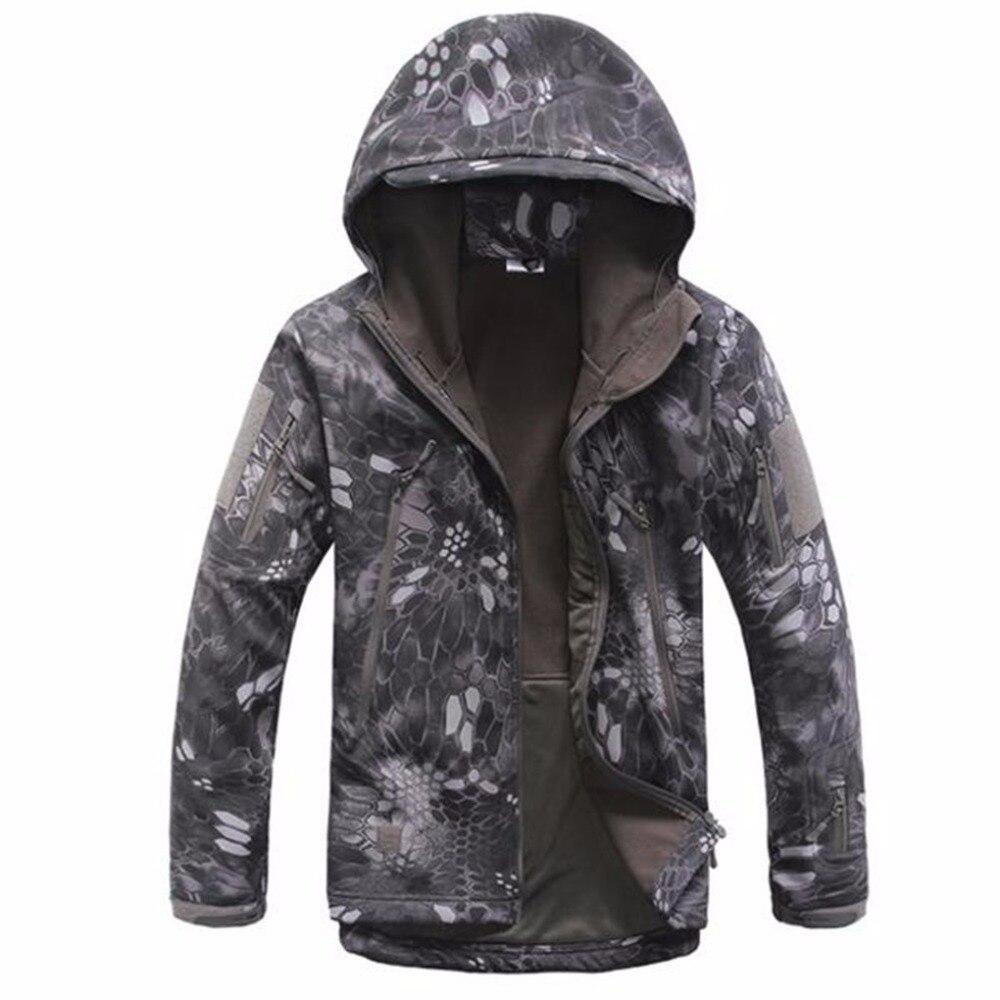 Chaqueta SoftShell de alta calidad de Shanghai Story, chaqueta militar táctica a prueba de viento, chaqueta técnica 18 colores