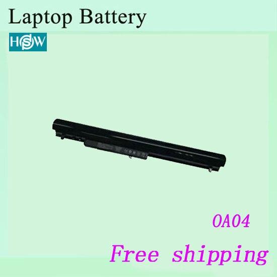 De alta calidad de 14,4 v 2200mah OA03 OA04 batería de ordenador portátil para HP CQ15 CQ14 240 G2