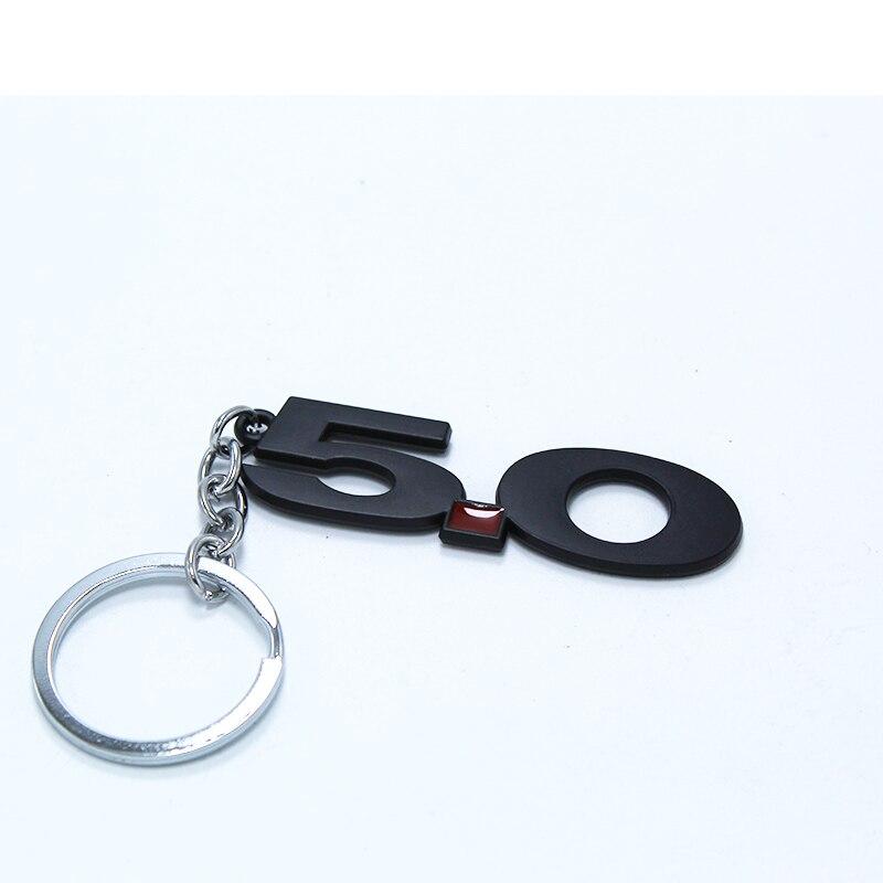Voiture porte-clés porte-clés porte-clés Auto porte-anneau 5.0 pour Renault Megane 2 Duster Clio Honda Civic Fit VW touareg mk7 MK5 Mazda 3