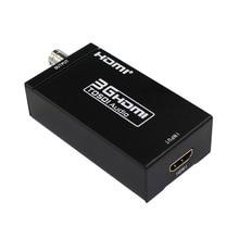 Two pieces HDMI to SDI converter HDMI in to SDI out HD To BNC SDI/HD-SDI/3G-SDI 1080P Multimedia HD Video Converter with power