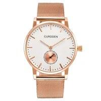 2020 rose gold brand luxury watches men fashion stainless steel waterproof minimalist quartz watch montres de marque de luxe