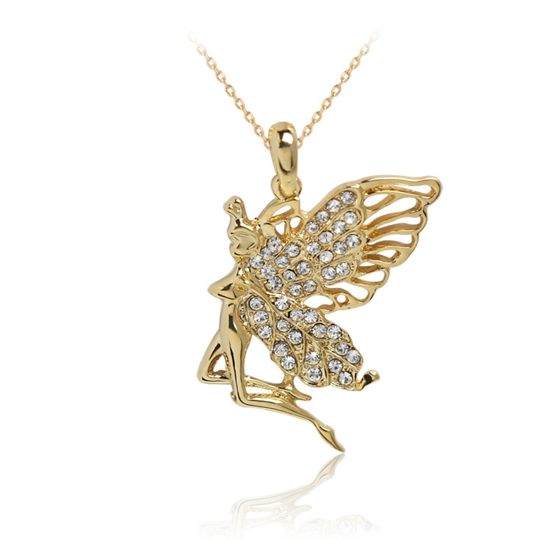 Hot Women Fashion Cute Retro pendant Necklace Angel girl pendant Party Gift Jewelrty N1165  - buy with discount