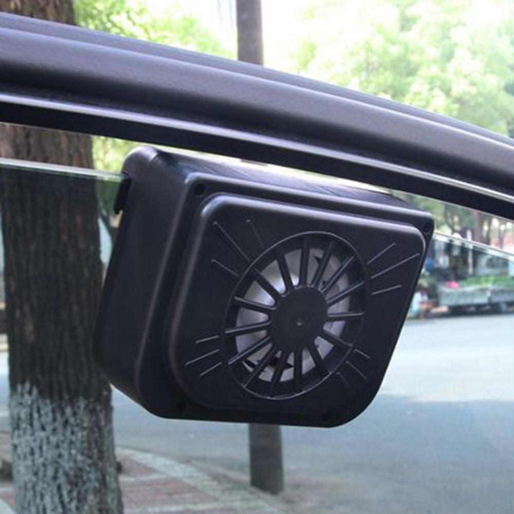 Solar Power Car Radiator Fan Environmental Exhaust Cooler Car Air Cooling Vent Auto Fan Car Auto Air Vent Fan Exhaust Fan