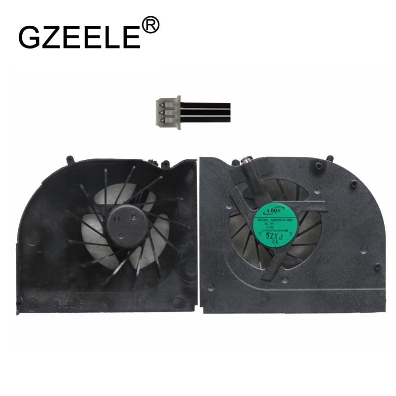 GZEELE nouveau ventilateur de refroidissement pour HASEE A560 A560-I3 A560-I7 A550-T44 A550-P pour LG R560 R580 Ordinateur Portable refroidisseur de processeur Pour Ordinateur Portable