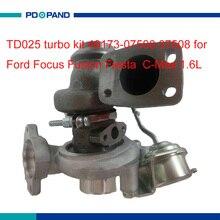Kit de turbocompresseur automatique TD025   Partie compresseur, pour Ford Focus Fiesta Fusion c-max 1.6L HHDB HHJB HHJE, moteur