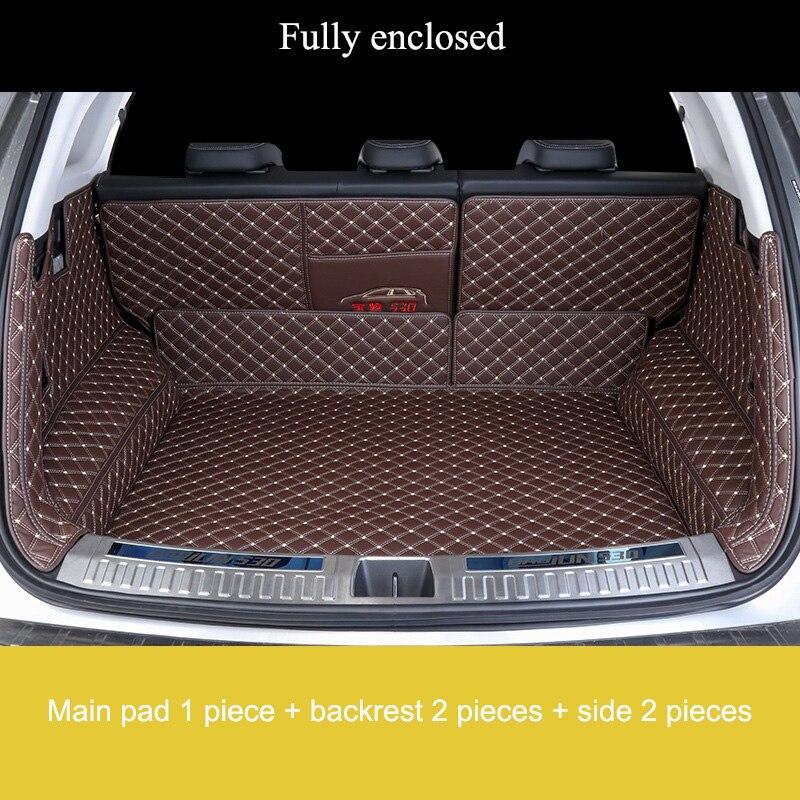 Custom car trunk mats for Kia series Sorento 5seat Sorento 7seat  2013-2018 Carens 5seat Carens 7seat  Camival 2013-2017 years