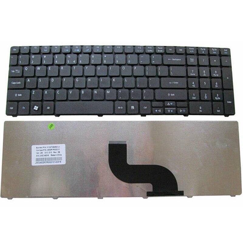 Inglés para Acer para Aspire 5750 de 5750G 5253, 5333, 5340, 5349, 5360, 5733 5733Z 5750Z 5750ZG nos teclado del ordenador portátil