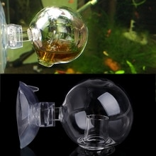 Moniteur de dioxyde de carbone CO2 Aquarium   Aquarium, testeur de billes de verre Transparent nouveau