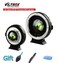 Viltrox EF-M2 réducteur de focale Booster adaptateur Auto-focus 0.71x pour Canon EF monture objectif à M43 caméra EM10/EM10 II/EM10 III/EM5 II