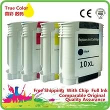 Ink Cartridges Cartridge Replacement For 10 XL 10XL HP10XL HP10 C4840A C4843A Business Inkjet 1100 3000 300 2800dtn